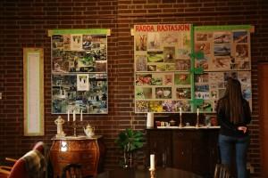 Utställning i Ekensbergskyrkan